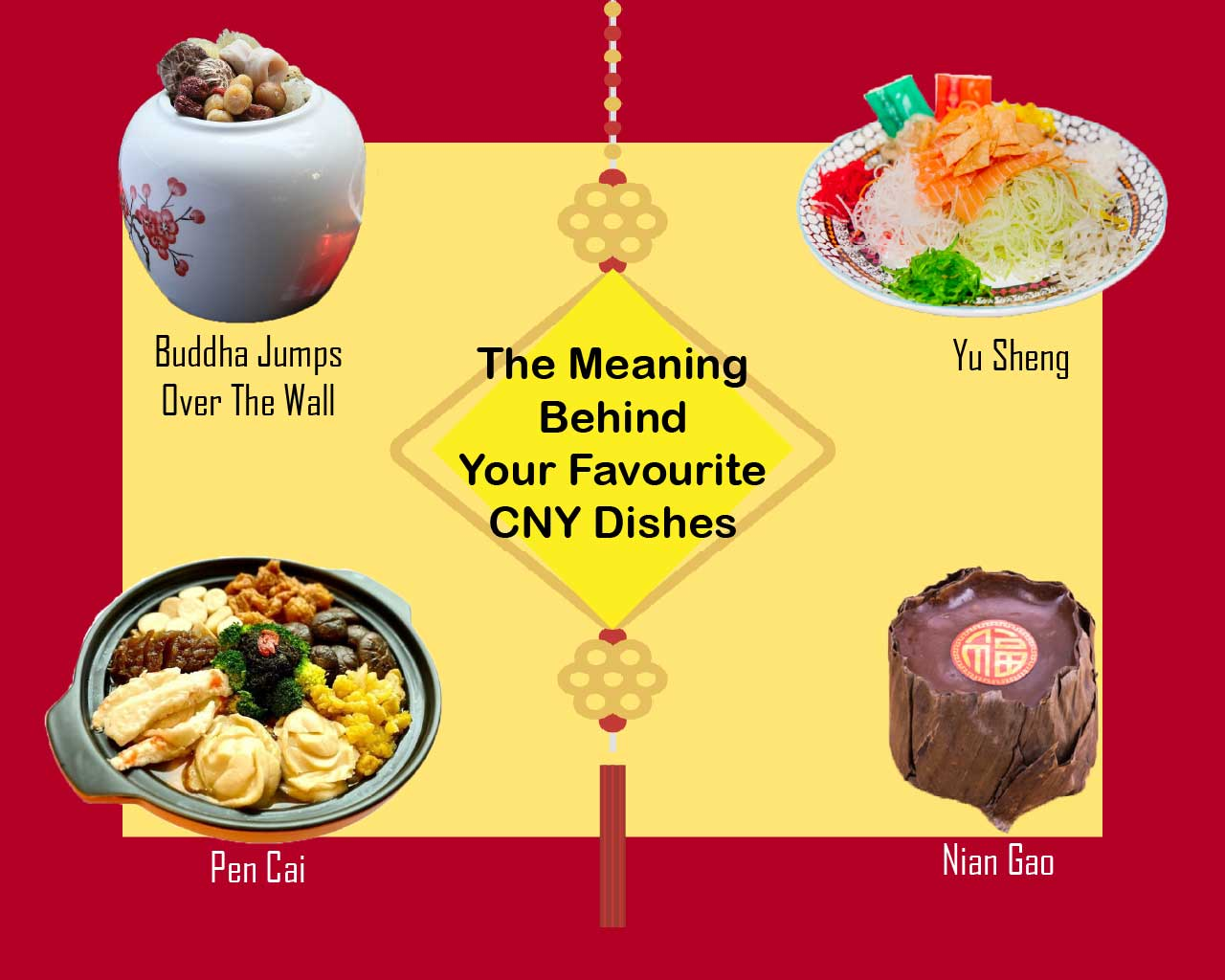 The Meaning Behind Your Favourite CNY Dishes