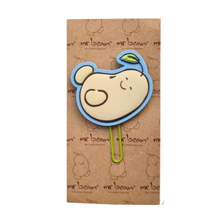 Book Mark - Blue Mr Bean