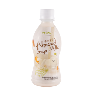 Almond Soya Milk Bottle (4 Packs)