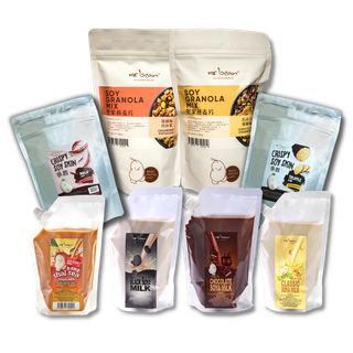 SOY GRANOLA MIX VALUE BUNDLE